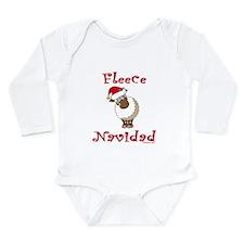 Fleece Navidad Baby Outfits