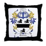 Verner Coat of Arms Throw Pillow