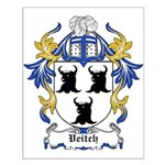 Veitch Coat of Arms Small Poster