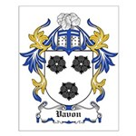 Vavon Coat of Arms Small Poster