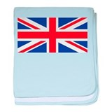 United Kingdom Union Jack baby blanket