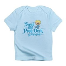 Swab Me Poop Deck Ya Scurvy Dog Infant T-Shirt