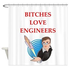 engineer Shower Curtain