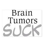 Brain Tumors Suck Postcards (Package of 8)