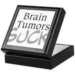 Brain Tumors Suck Keepsake Box