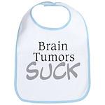 Brain Tumors Suck Bib