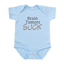 Brain Tumors Suck Infant Bodysuit