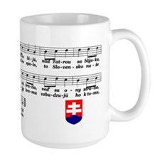 Large Slovak Anthem Mug