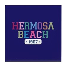 Hermosa Beach 1907 Tile Coaster