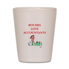 accountantt Shot Glass