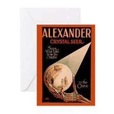 Fab Vintage Poster of Alexander, Seer and Psychic