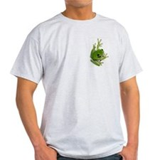 Tree Frog -  Ash Grey T-Shirt