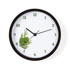 Tree Frog -  Wall Clock