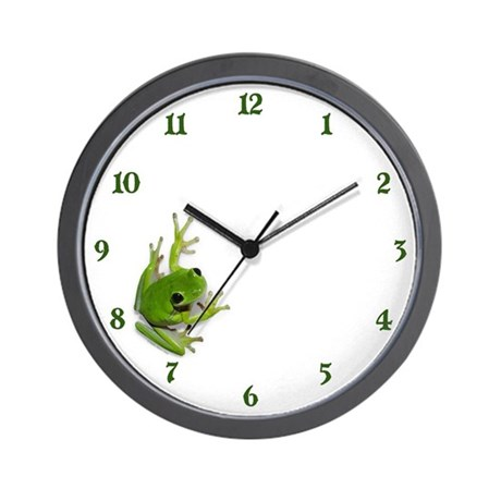 Tree Frog - Wall Clock
