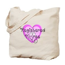 RN Heart Pink Stetho cap.PNG Tote Bag