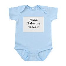 Jesus Take the Wheel Infant Bodysuit