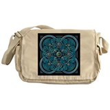 Blue Celtic Tapestry Messenger Bag