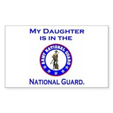 Sticker: Daughter In National Guard