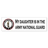 Bumpersticker Daughter In National Guard