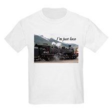 I'm just loco: Colorado steam train 2 T-Shirt