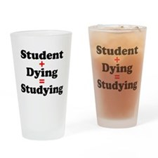 Studying Drinking Glass