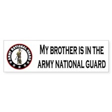 Bumpersticker: Brother In National Guard