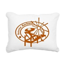 Santa Barbara Rectangular Canvas Pillow