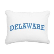 Vintage Delaware Rectangular Canvas Pillow
