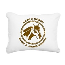 Nebraskan Rectangular Canvas Pillow