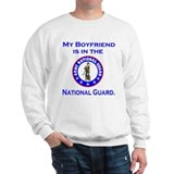 Sweatshirt: Boyfriend In National Guard