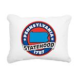 Pennsylvania Statehood Rectangular Canvas Pillow
