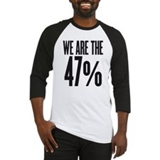 We are the 47 percent Baseball Jersey