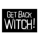 Get Back Witch Postcards (Package of 8)