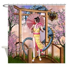 Orient Dream Shower Curtain