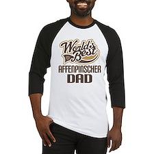 Affenpinscher Dad Baseball Jersey