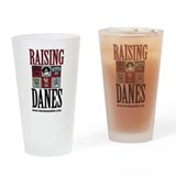 "Raising Danes ""The Color Chart"" Drinking Glass"