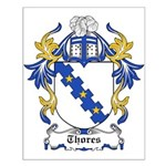 Thores Coat of Arms Small Poster