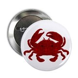 "Crab 2.25"" Button"