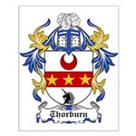 Thorburn Coat of Arms Small Poster
