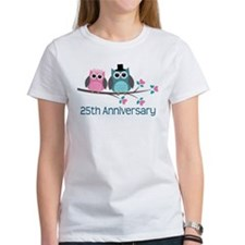 25th Anniversay Owls Tee