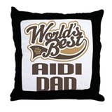 Aidi Dad Throw Pillow