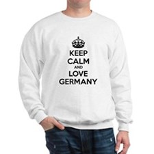 Keep calm and love Germany Sweatshirt
