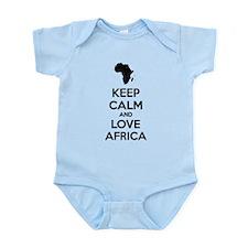 Keep calm and love Africa Infant Bodysuit