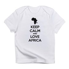 Keep calm and love Africa Infant T-Shirt