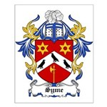 Syme Coat of Arms Small Poster