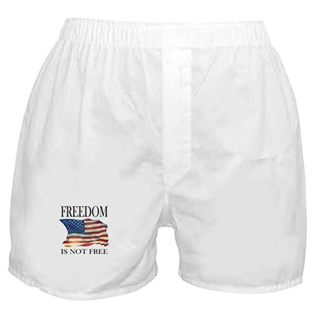Freedom is not free Boxer Shorts