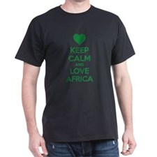 Keep calm and love Africa T-Shirt