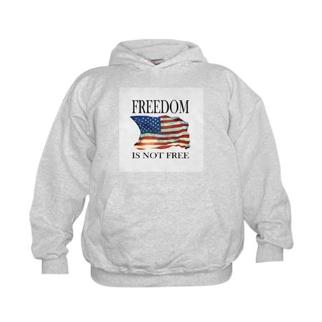 Freedom is not free Kids Hoodie