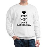 Keep calm and love Barcelona Sweater
