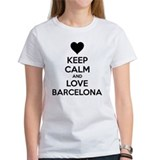 Keep calm and love Barcelona Tee